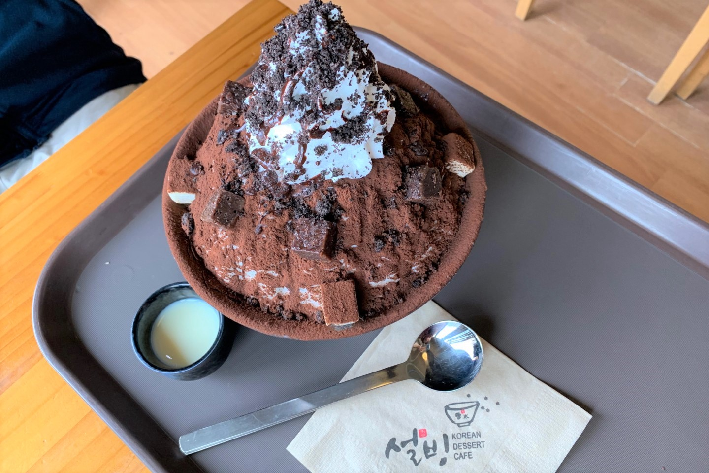 韓國雪冰 설빙 Korean Dessert Cafe
