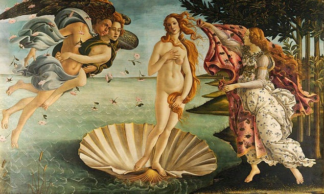 維納斯的誕生 The Birth of Venus