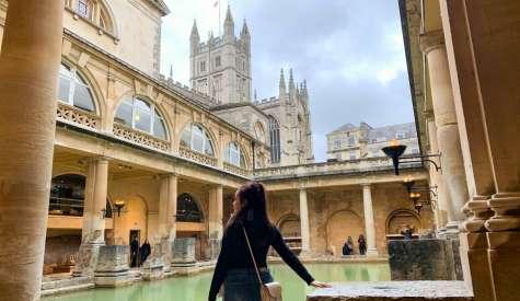 巴斯羅馬浴場The Roman Baths.英格蘭唯一天然溫泉.英國自由行