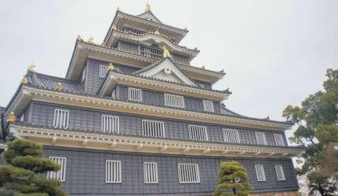 岡山城與岡山後樂園.武士權力的象徵.日本自由行