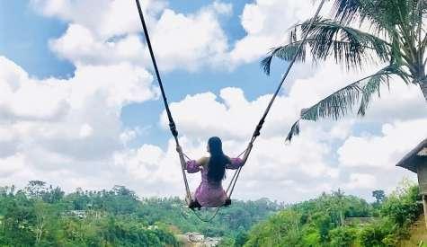 Bali Swing.盪進叢林的峇里島鞦韆.峇里島自由行