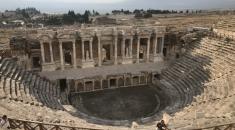 希拉波利斯聖城 Hierapolis .棉花堡.土耳其自由行
