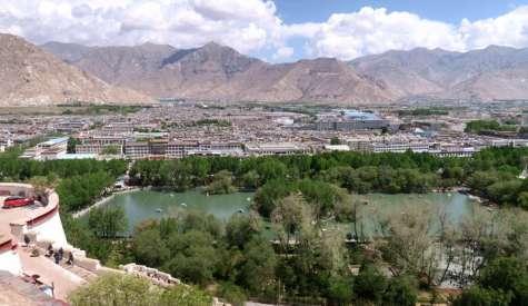 宗角祿康公園 (龍王潭).西藏自由行