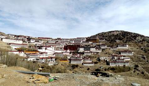 甘丹寺、扎葉巴寺.西藏自由行