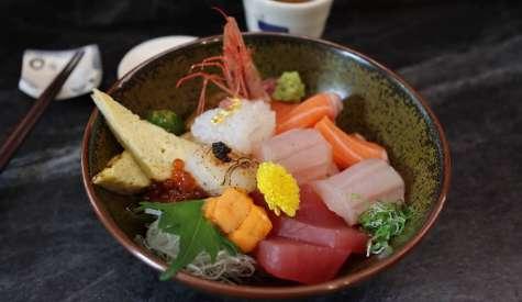 回未了日式丼飯.隱藏巷弄老宅中的魚生飯.台中自由行
