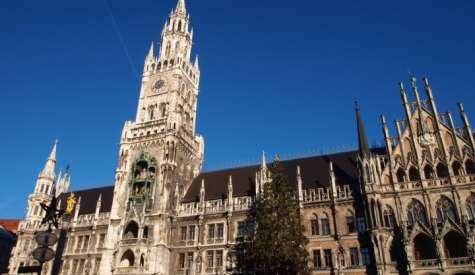 慕尼黑舊城區市中心.德國自由行