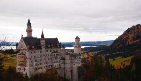 新天鵝堡 Schloß Neuschwanstein.睡公主的城堡.德國自由行