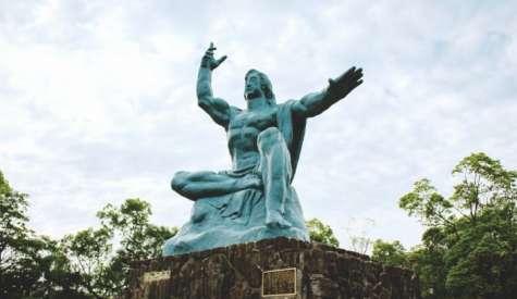 平和公園.來自世界的和平祈願.長崎自由行