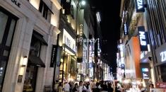 明洞購物街.首爾自由行